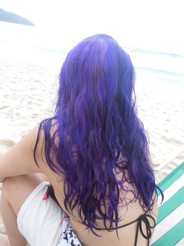 Alfaparf 7.4 Blueberry Candy Color Palpitai Tainara Santana