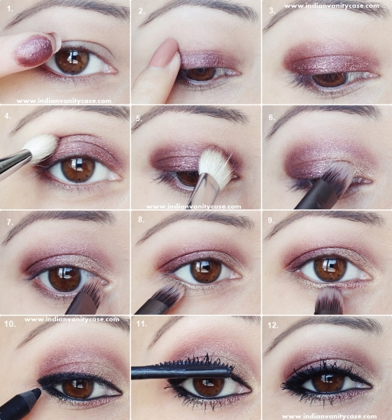 Achei no: http://www.indianvanitycase.com/2013/06/2-in-1-eye-makeup-tutorial-metallic.html