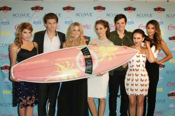 2013 Teen Choice Awards Press Room